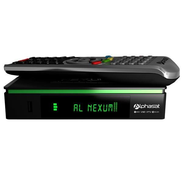 Receptor Alphasat Nexum H265 EDITION KVM