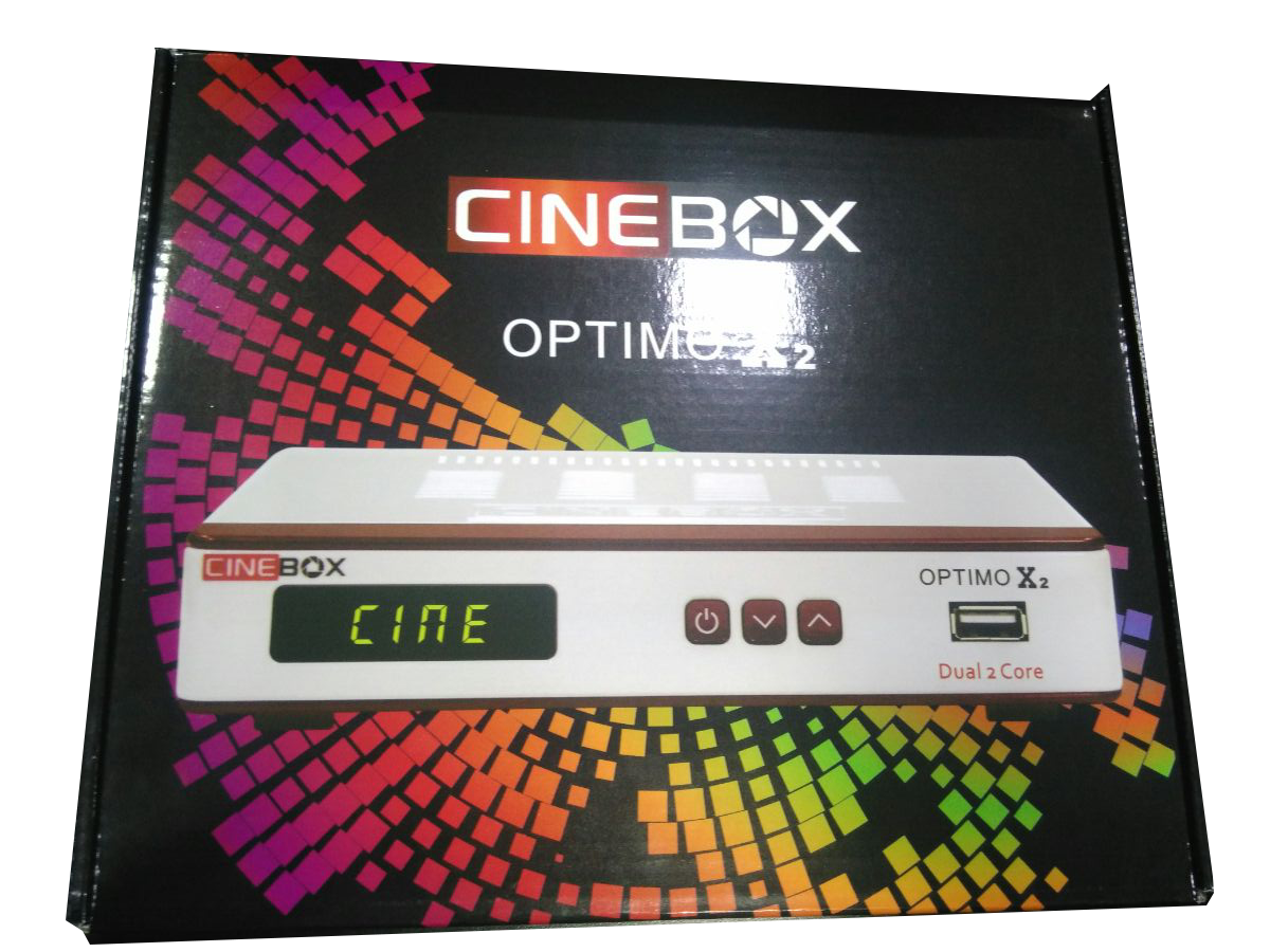 Receptor FTA Cinebox Optimo X2 ACM